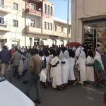 A wedding procession in Asmara