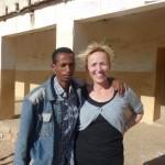 Niguse with Sian