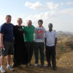 The 2011 team with Yakim on the road to Keren