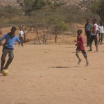 Football in the village