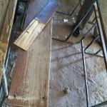 The school urgently needs new desk tops in 3 classrooms