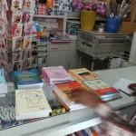 Choosing text books in Keren with the school director