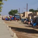 Water delivery in Keren