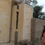 Rainwater harvester in neighbouring village